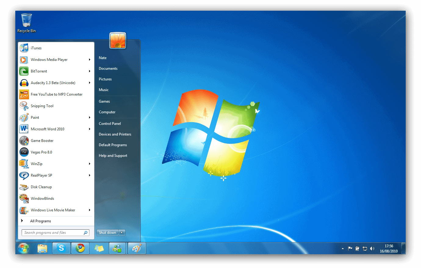 how to start windows 7 to update