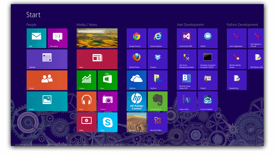Windows 8 Start Menu 2