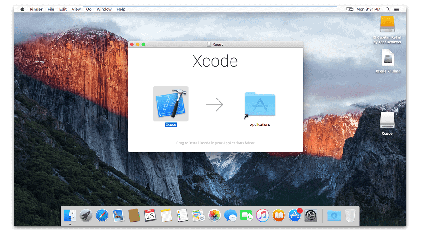 Install Xcode 7