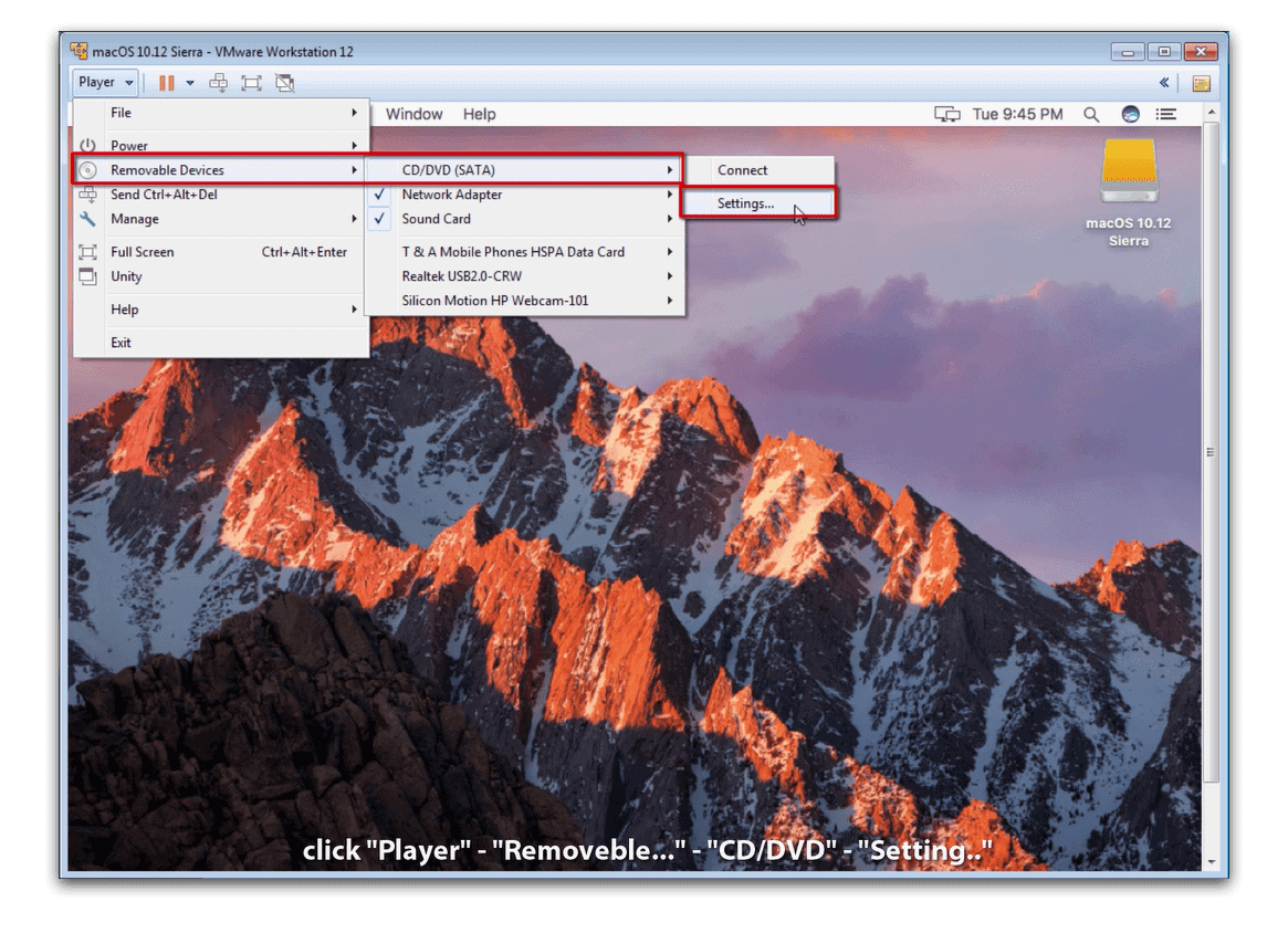 how to set up gmail on mac os sierra