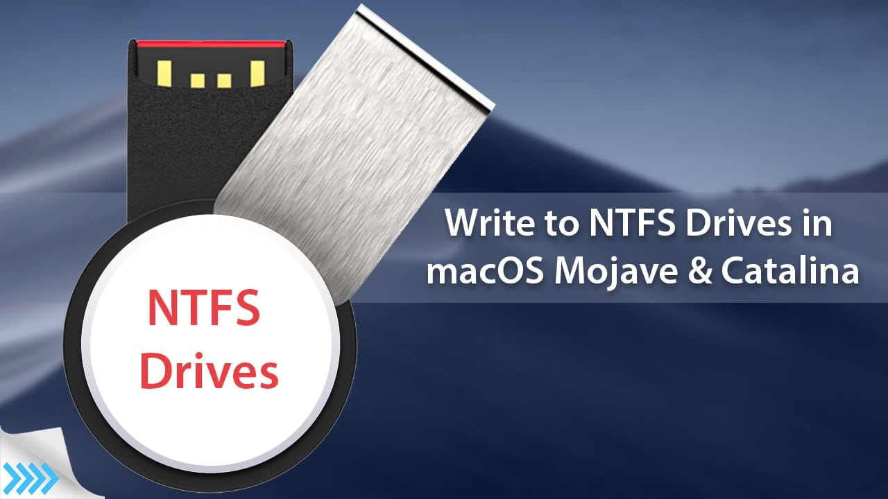 How to Write to NTFS Drives in macOS Mojave & Catalina