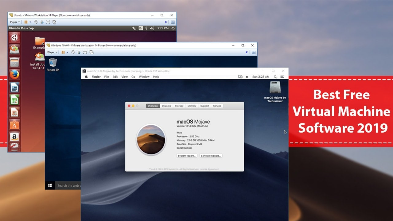 Best Free Virtual Machine Software In 2019