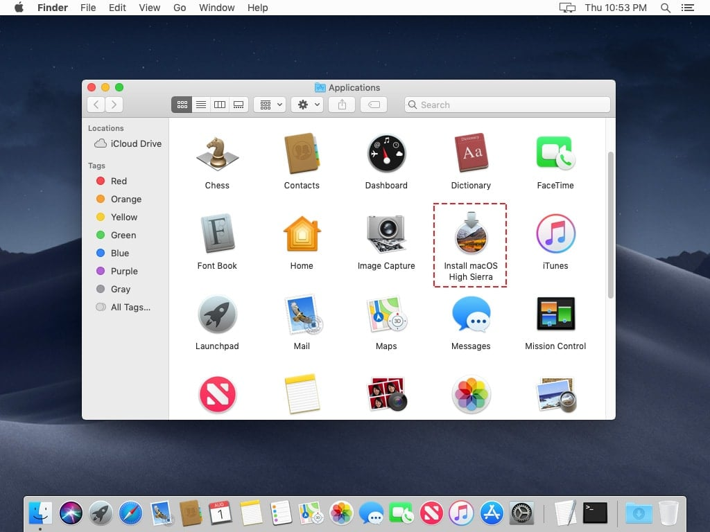 mac os x sierra virtualbox download