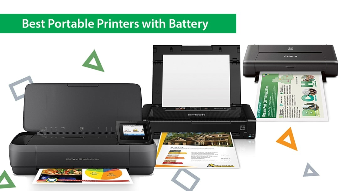 Best Portable Printers with Battery in 2021