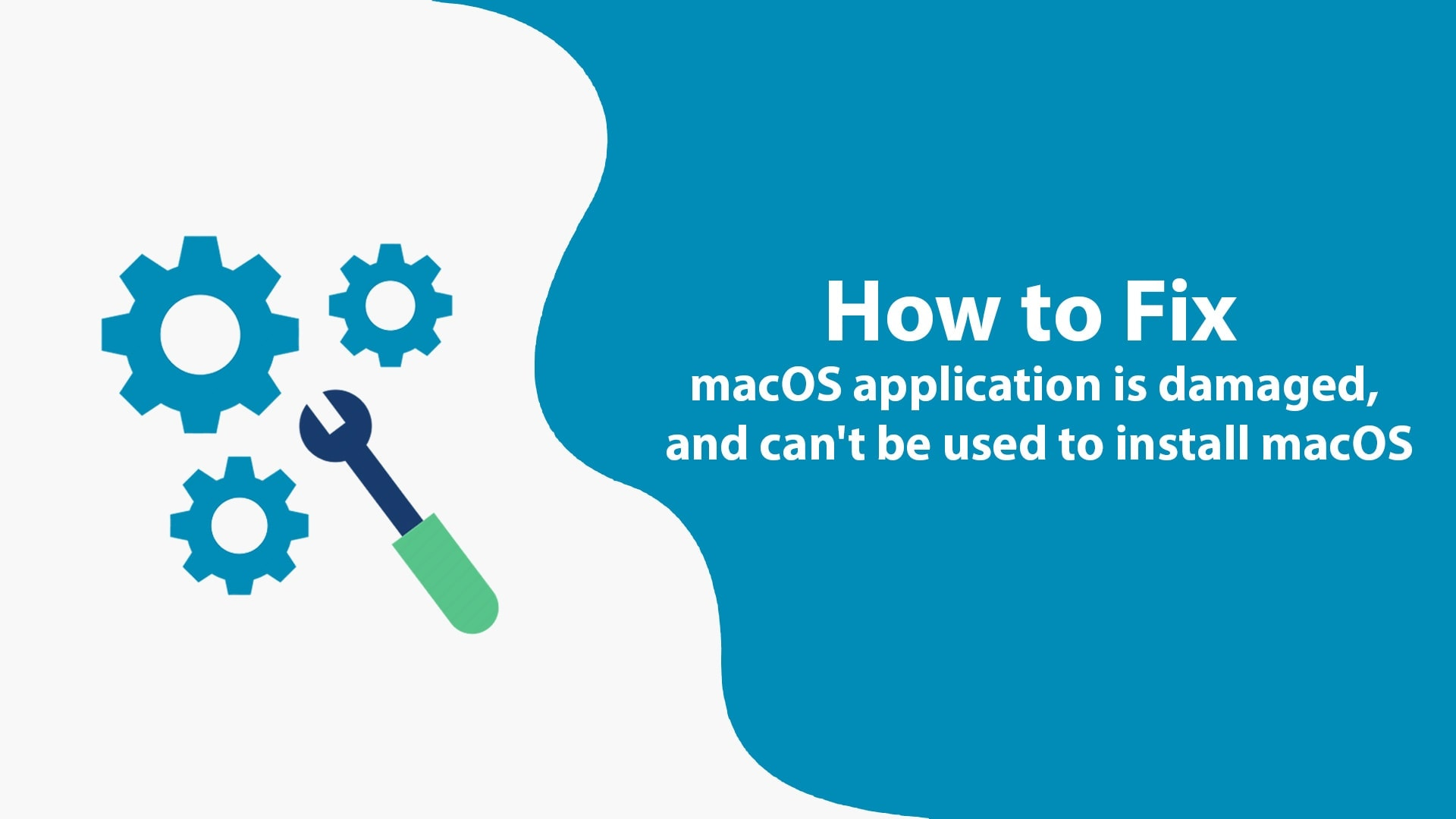 How to Fix macOS application is damaged, and can't be used to install