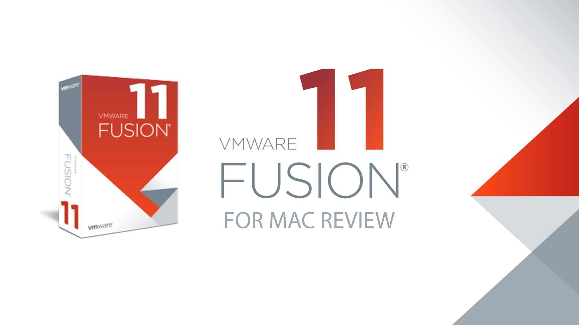 VMware Fusion For Mac Review 2020