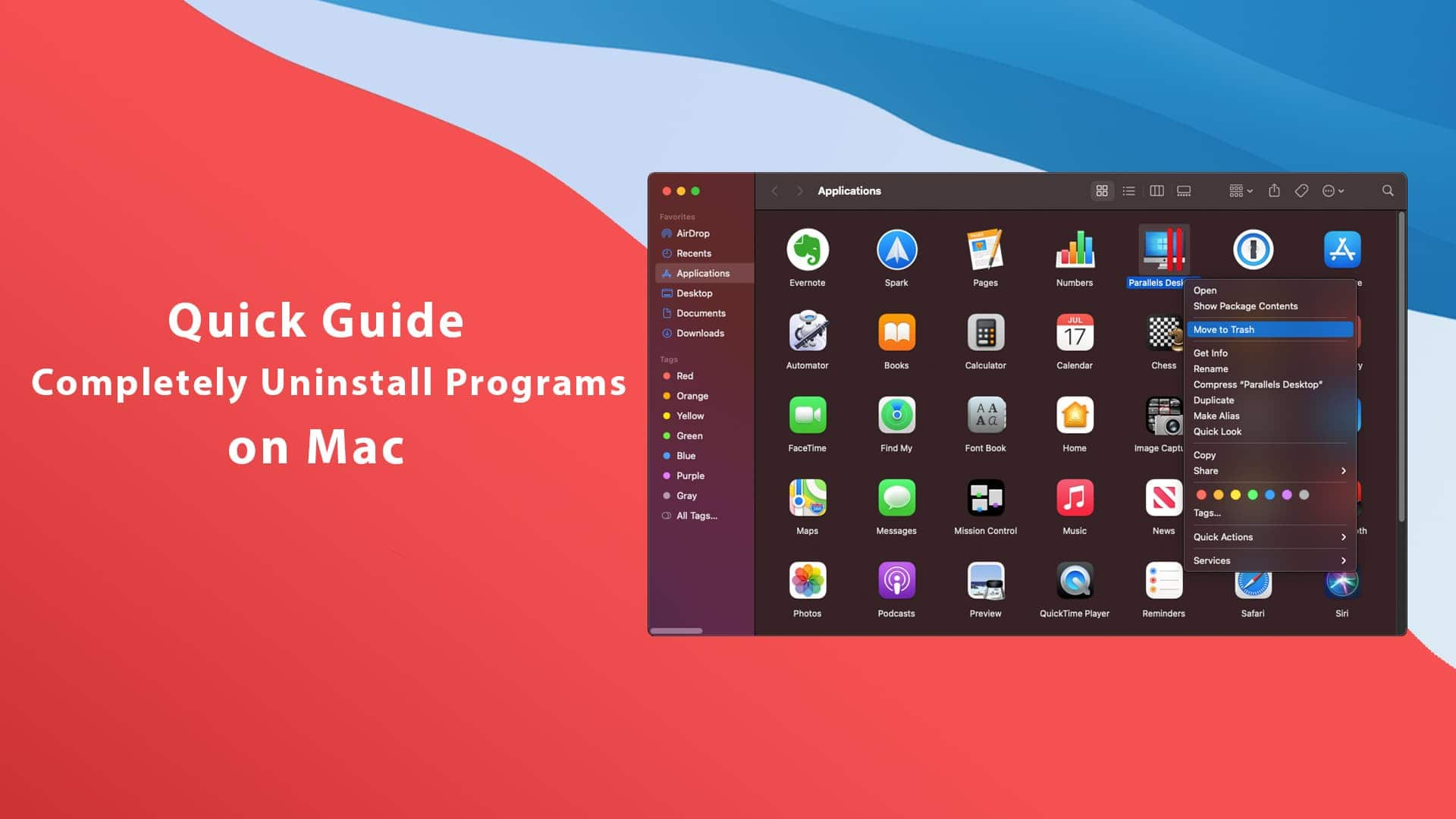 Quick Guide to Completely Uninstall Programs on Mac