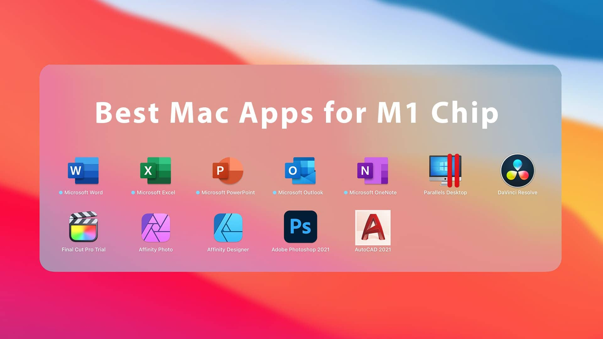 Best Mac Apps for M1 Chip