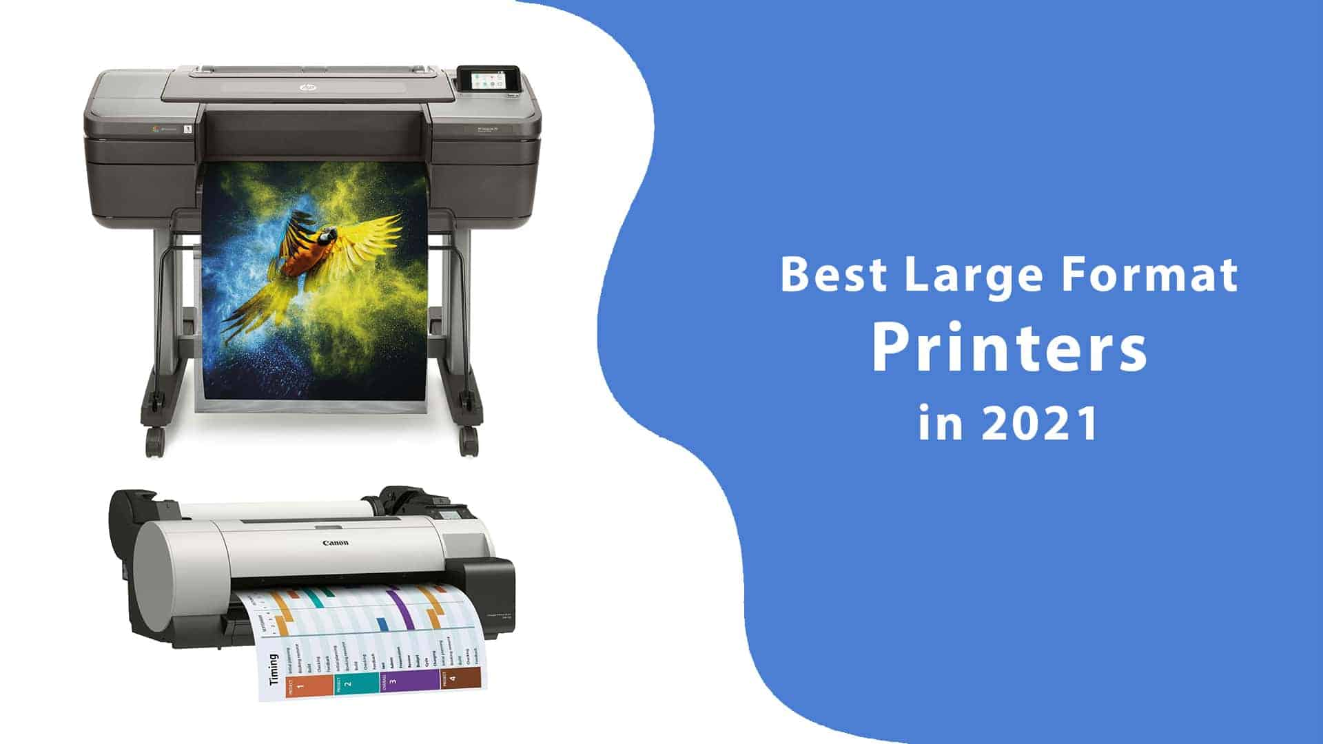 Best Large Format Printers in 2021