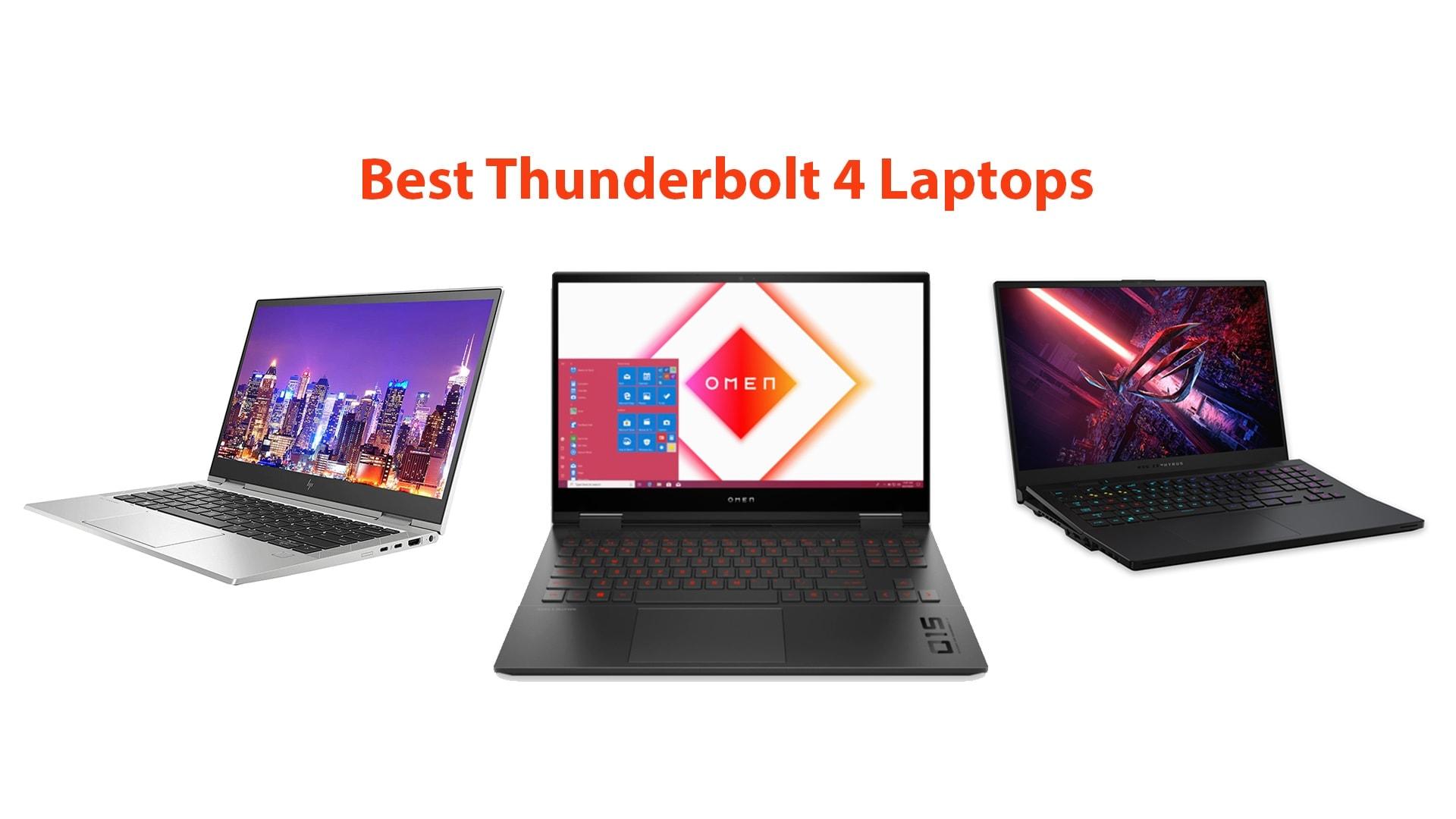 Best Thunderbolt 4 Laptops