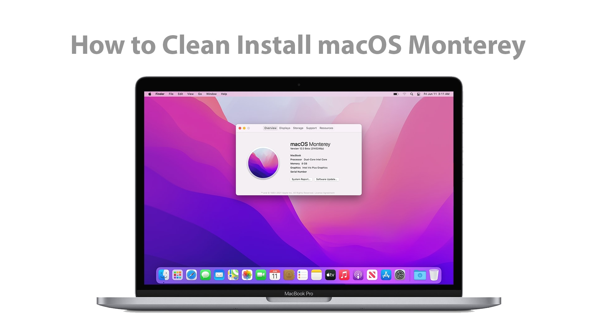 How to Clean Install macOS Monterey